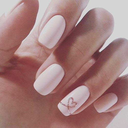 Pretty Pink Bridal Nail Art Ideas For Your Big Day