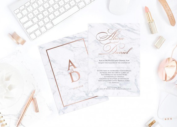 Gorgeous Wedding Invitations: Gorgeous Wedding Invitation Inspo For 2019 Couples