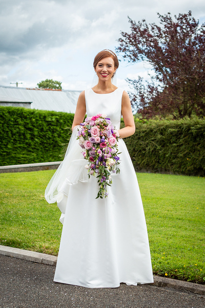 A Summer Wedding With A Purple And Pink Theme