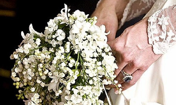Kate Middleton's sweet william bouquet