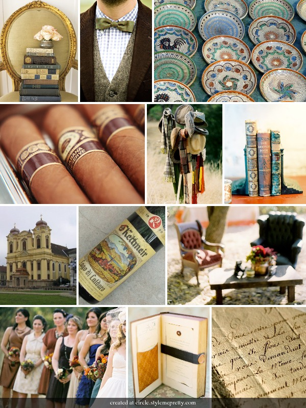 inspiration board from style me pretty