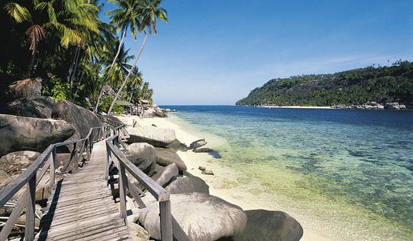 Stunning coastline in Malaysia
