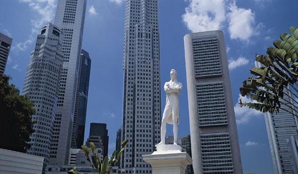 Singapore's modern skyline