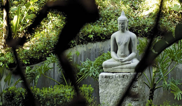 One of Sri Lanka's famous Buddha's