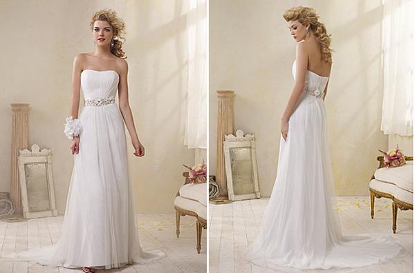 Vestido de novia 8503 de Alfred Angelo