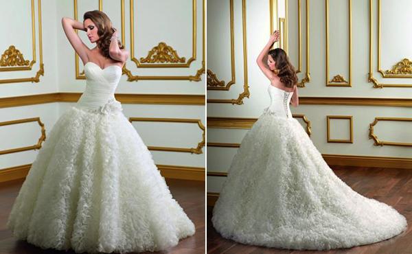 Vestido de novia 1814 de Mori Lee