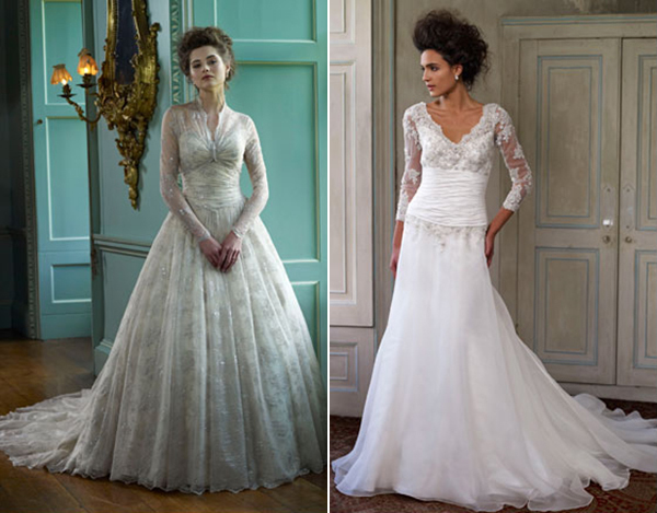 Vestidos de novia de manga larga de Ian Stuart