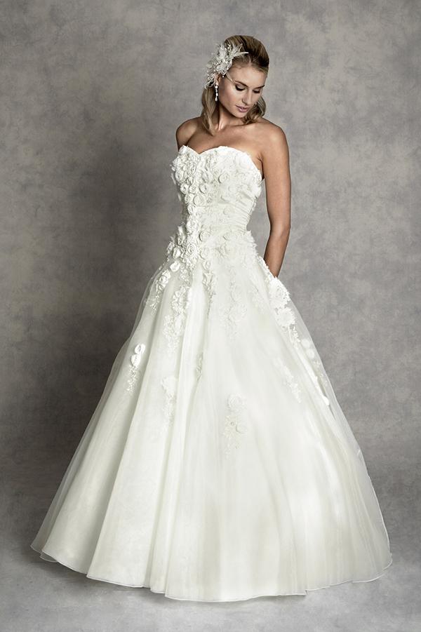Vestido de novia Lyddia de Amanda Wyatt