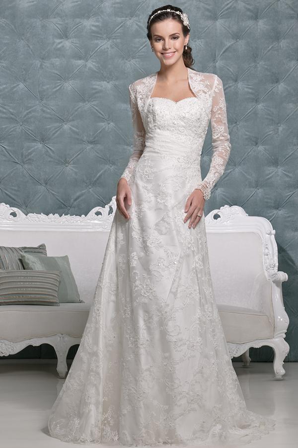 Vestido de novia Olga de Amanda Wyatt