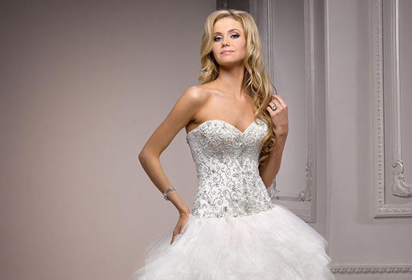 Vestido de novia Nikkita de Maggie Sottero