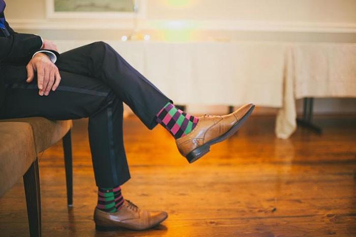 Colins funky socks