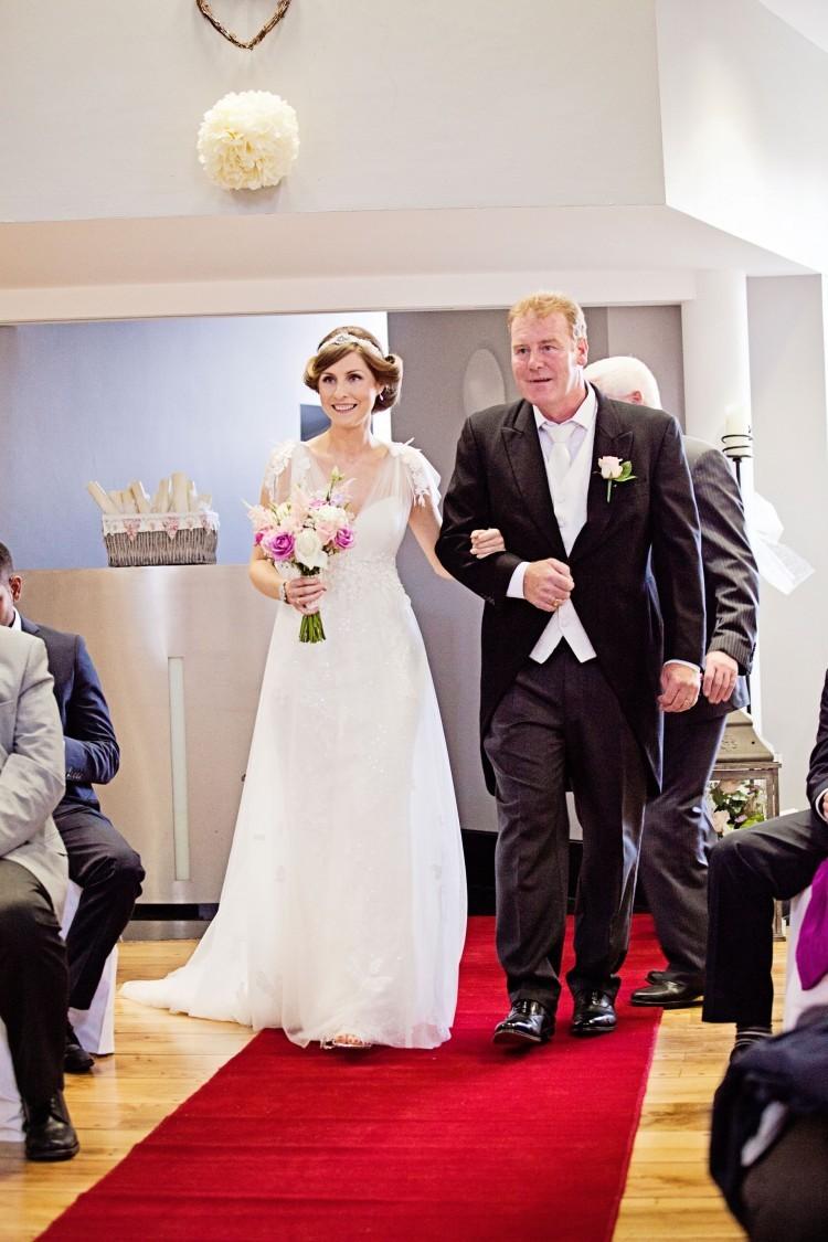 Louise & Stephen wedding day