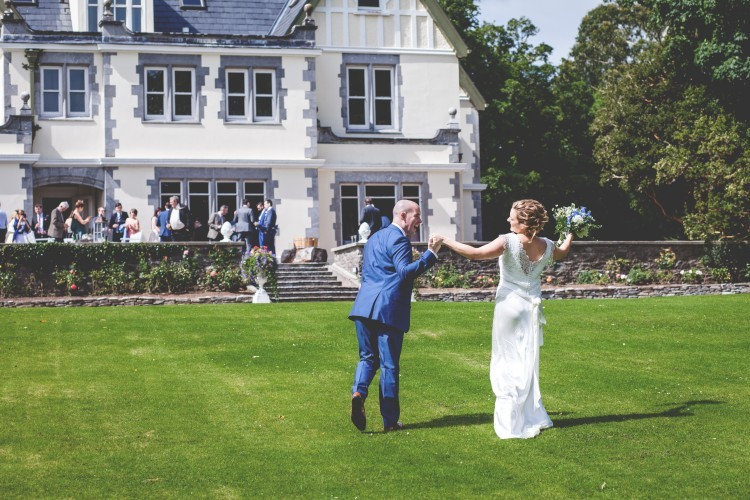 eilis and eoin at dromquinna manor