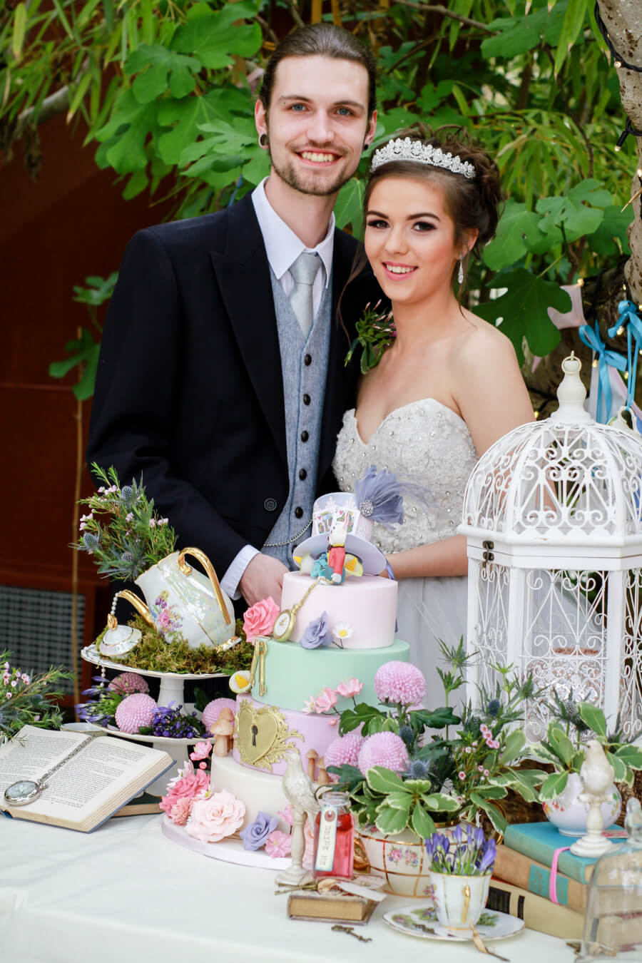 Mad Hatters Tea Party Bridal Inspiration Styled Shoot | Mrs2be.ie