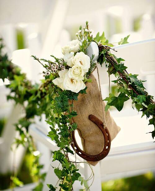 Stylish Aisle Decorations & Pew Ends