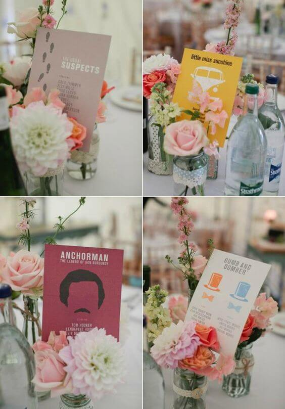 Wedding-table-name-ideas-herbs-favourite-films-movies