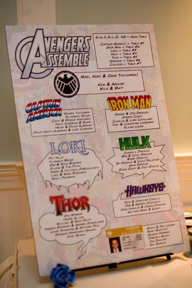 fun-wedding-table-number-ideas-avengers-movies