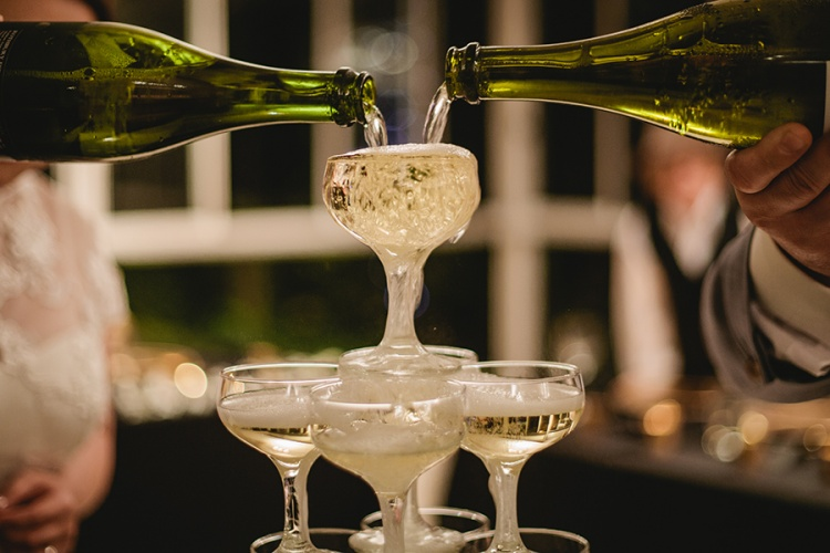 36-intimate-St-Kilda-outdoor-wedding-champagne-tower
