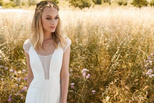 Rembo-Styling-2017-Favorite-Lace-Insert-Neckline-Vestido de novia-mrs2be