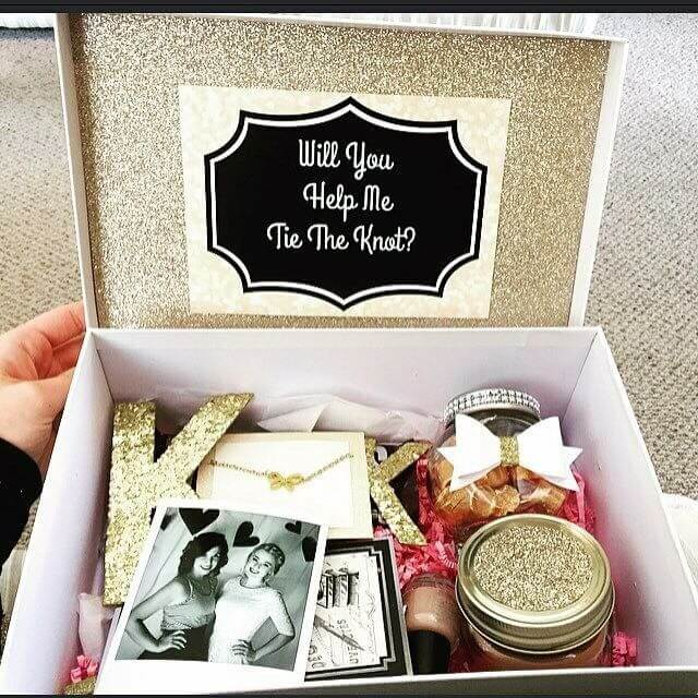 The 10 Best Be My Bridesmaid Proposal Ideas Weddingsonline