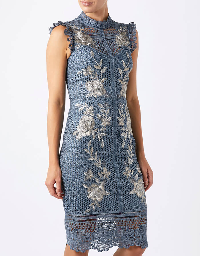 Printed Dresses for Autumn Wedding Guests