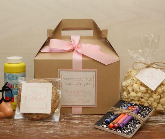 Children S Wedding Goodie Bag Inspiration Plus How To Make Your Own Weddingsonline