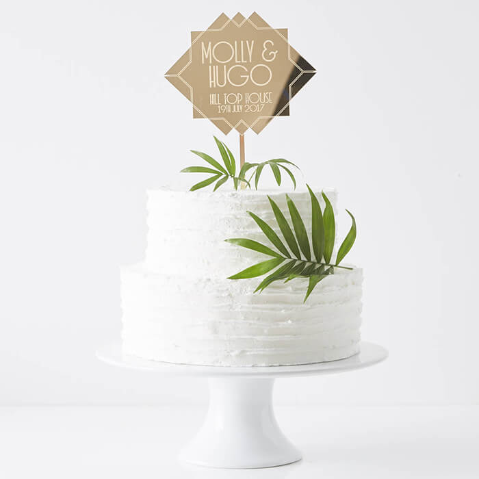 Quirky Wedding Cake Toppers