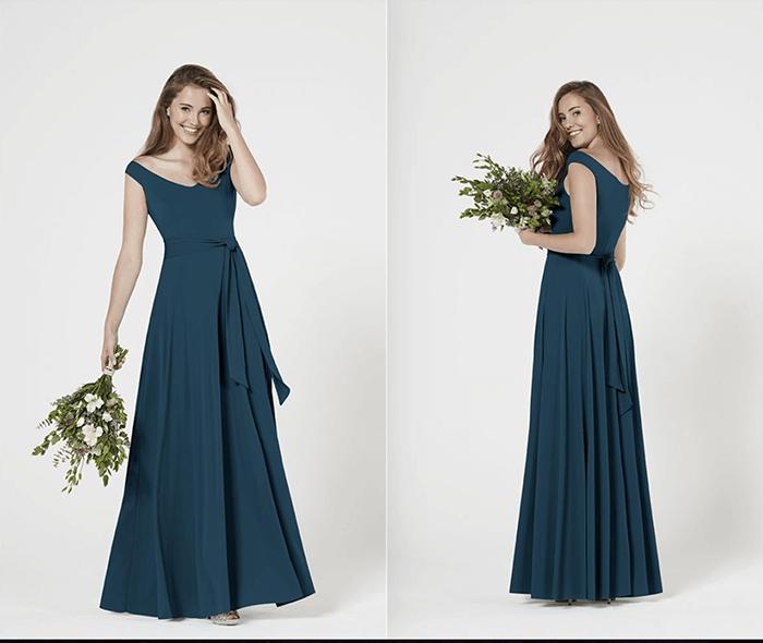 Winter Bridesmaids Dresses