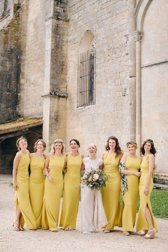 Yellow Colour Palette for Spring
