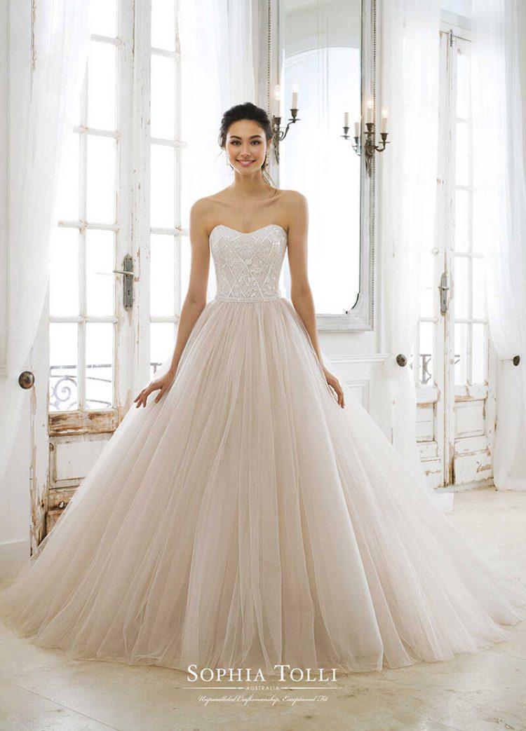 Vestido de novia 2018 a