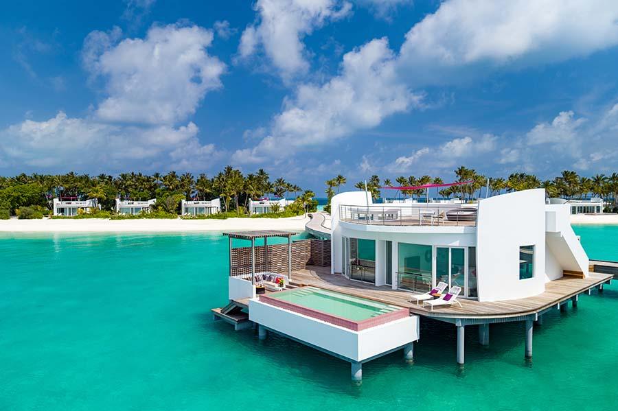 honeymoon destination by month