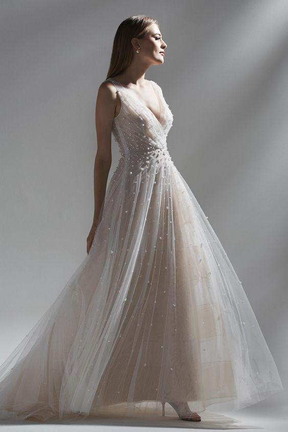 vestido de novia de primavera