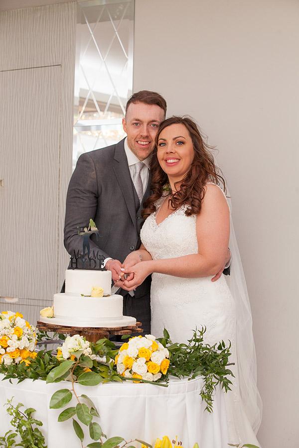 Marine Hotel wedding