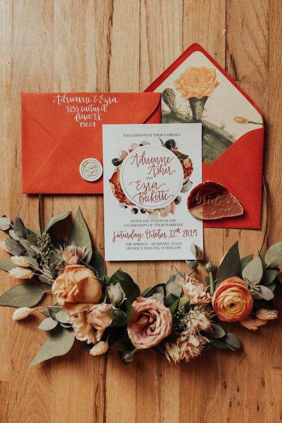autumn stationery