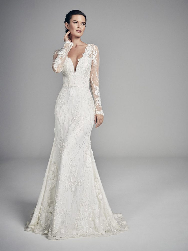 Glam Gowns for winter wedding