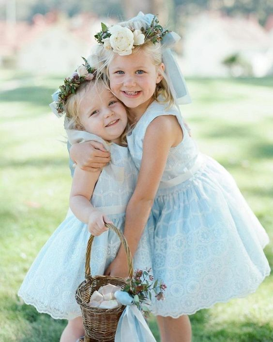 spring flower girls