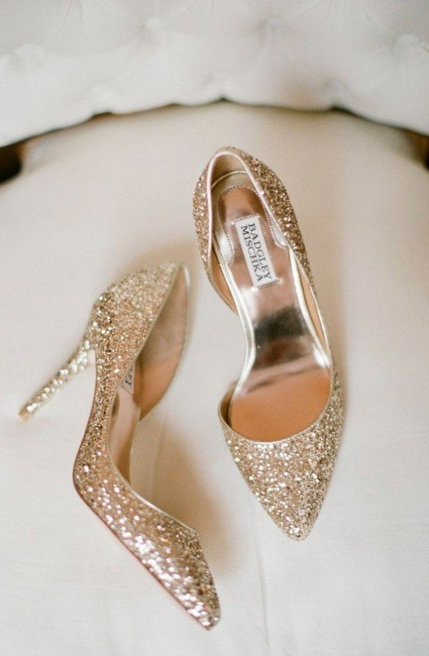 Shoes By Badgley Mischka | Photo By Jessica Burke