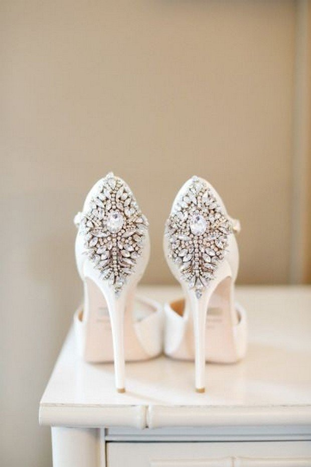 Shoes By Badgley Mischka | Photo By Alison Conklin Photography