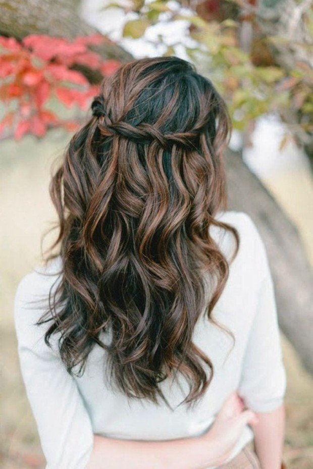 half hair style 23 absolutely timeless wedding hairstyles 5219