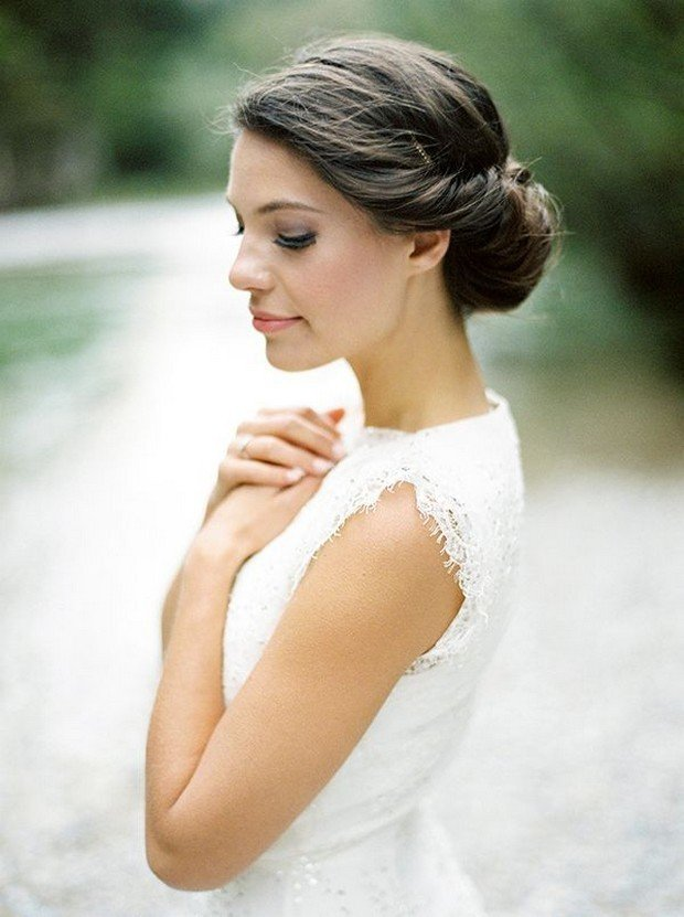 best hair style for wedding 23 absolutely timeless wedding hairstyles 8207