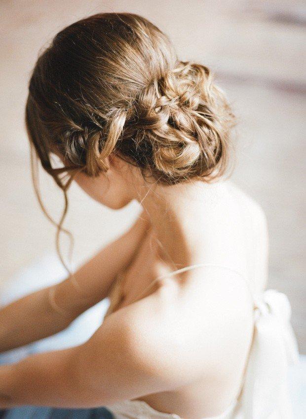 23 absolutely timeless wedding hairstyles photo by jose villa junglespirit Gallery