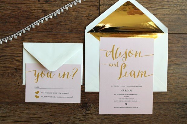 your guide to wedding invitation wording | weddingsonline, Wedding invitations