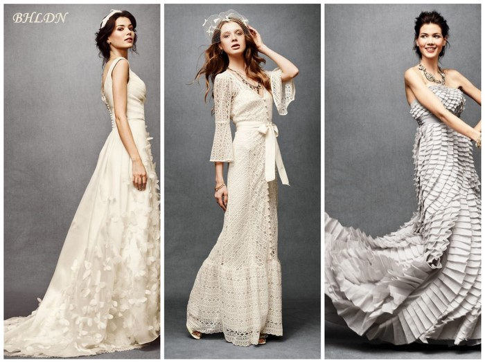Shades Of White Wedding Dresses Thumbmediagroup