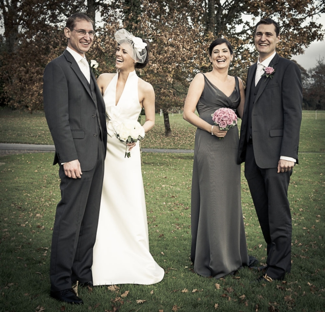 Weddingsonline Real Weddings: Adam And Adrienne's Wedding At Kilshane House By Insight