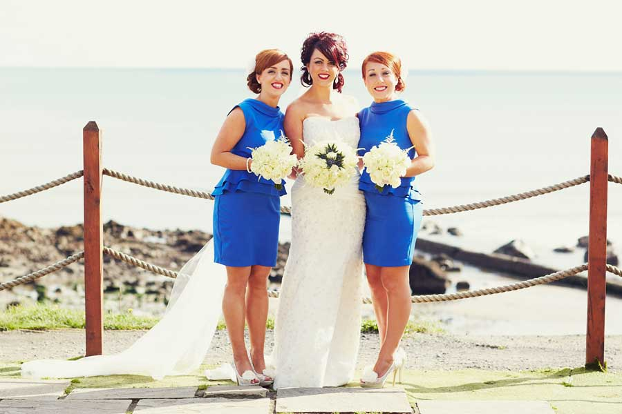 blue bridesmaid dresses short