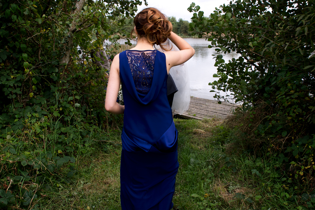 bridesmaid dress midnight blue wedding