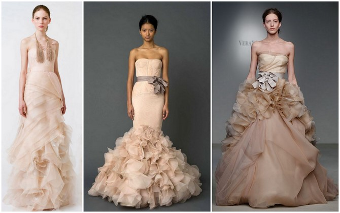 10 Gorgeous Blush Wedding Gowns: Top 10 Wedding Dress Trends For 2012