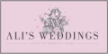 Advertisement for Ali's Weddings - Unique Wedding Films