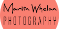 Advertisement for Martin Whelan Photography