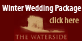 Advertisement for Wedding Venues - Waterside Winter Package